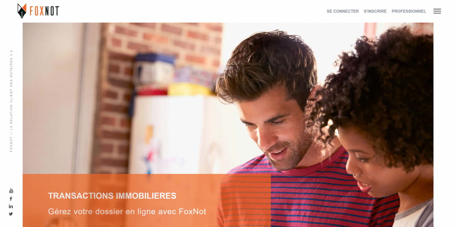 Foxnot startup proptech La Reserve immobilier 2.0
