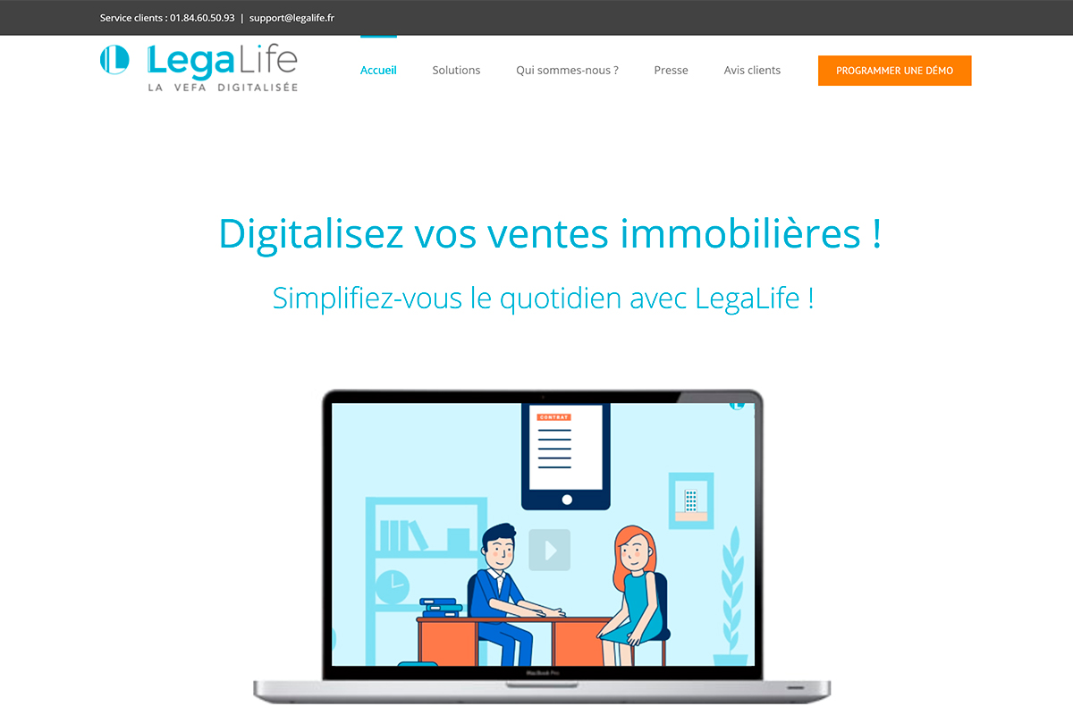 Legalife Start Up French Proptech