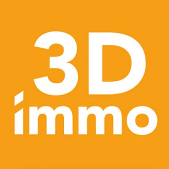 Logo 3D immo