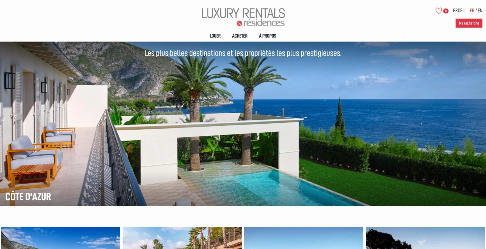 Luxury Rentals By Résidences