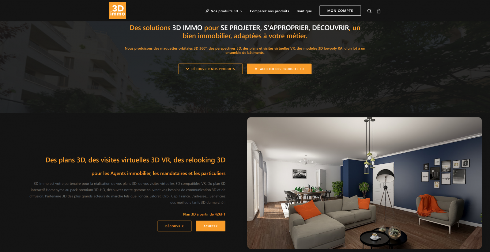 Plan 3d Immo Site Du Groupe Figaro