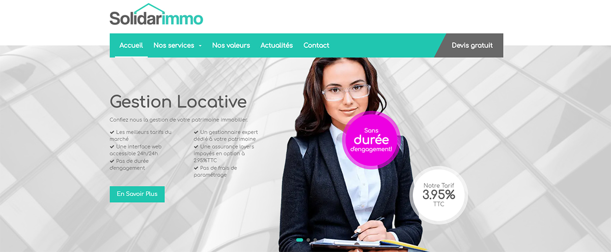 Solidarimmo Agence Immobilier Ecoresponsable