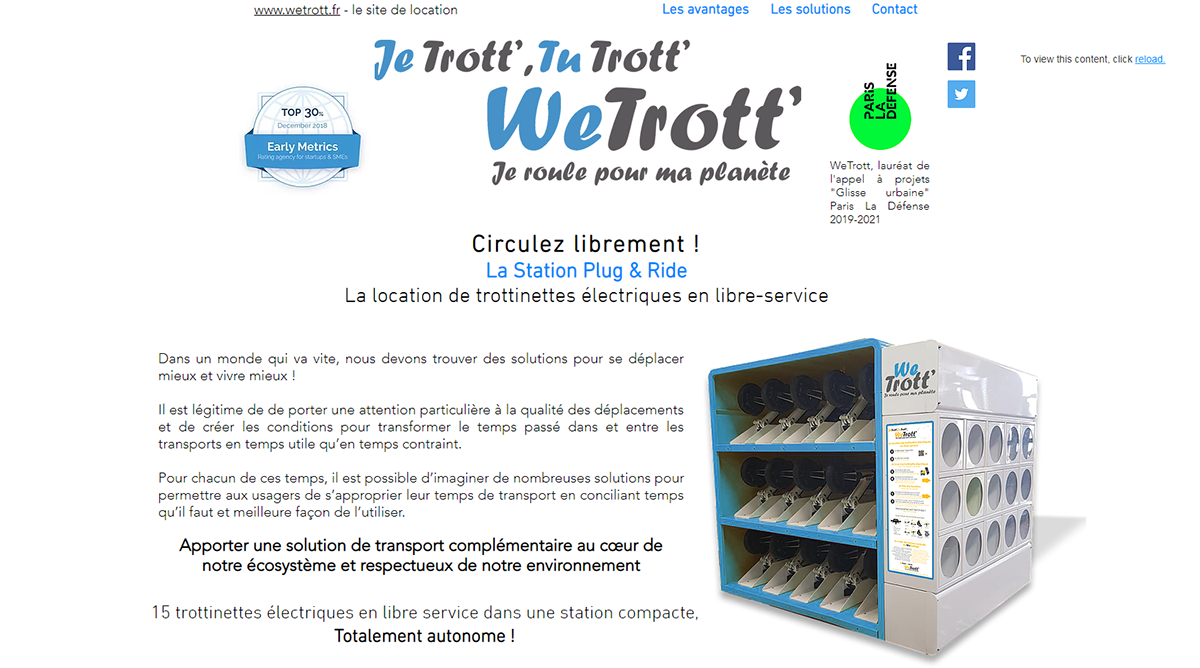 Wetrott Mobilite Urbaine Immobilier Startup