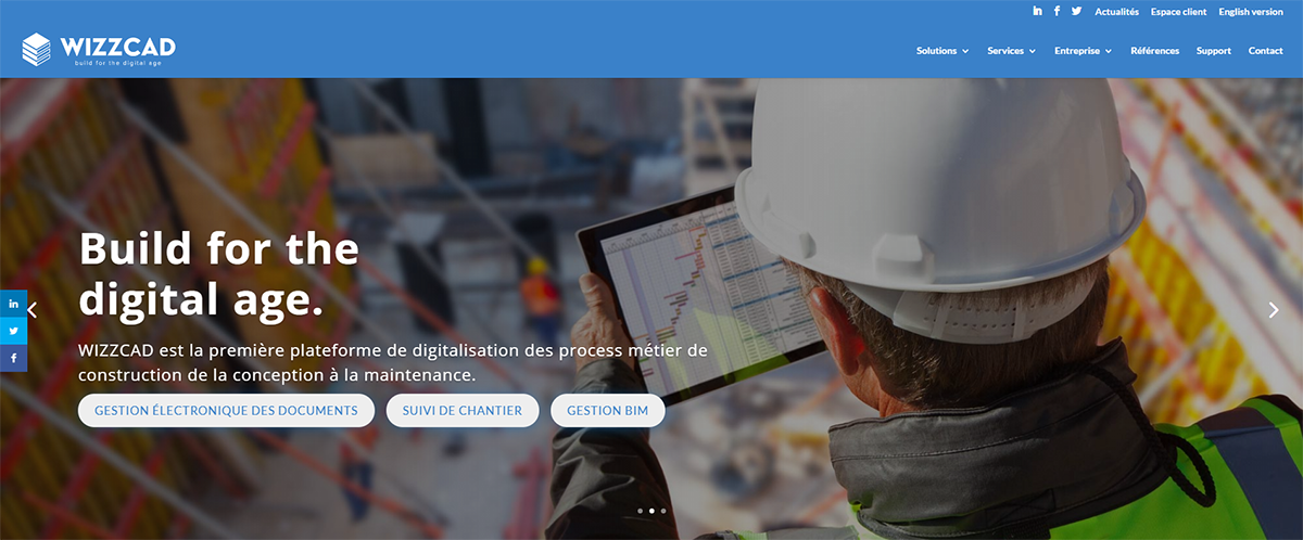 Wizzcad Startup Construction Promotion Immobilier
