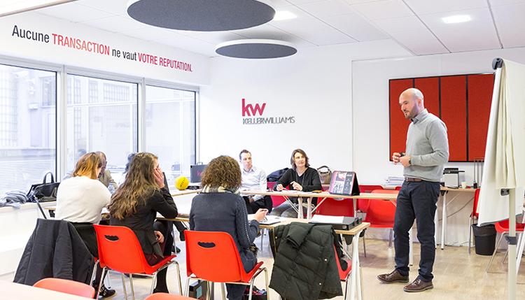 Keller Williams Reseaux Immobilier France Marketing Communication