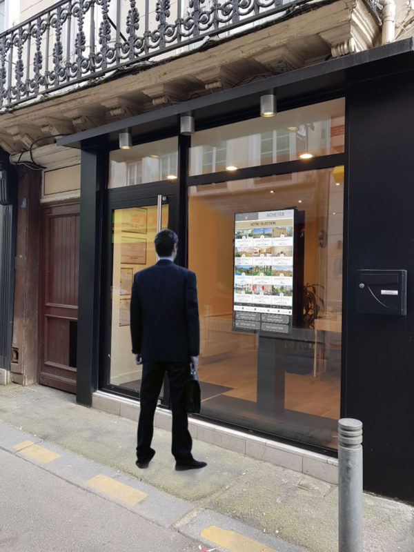 Vitrilia Immobilier Vitrine Immobilier Agence Illustration