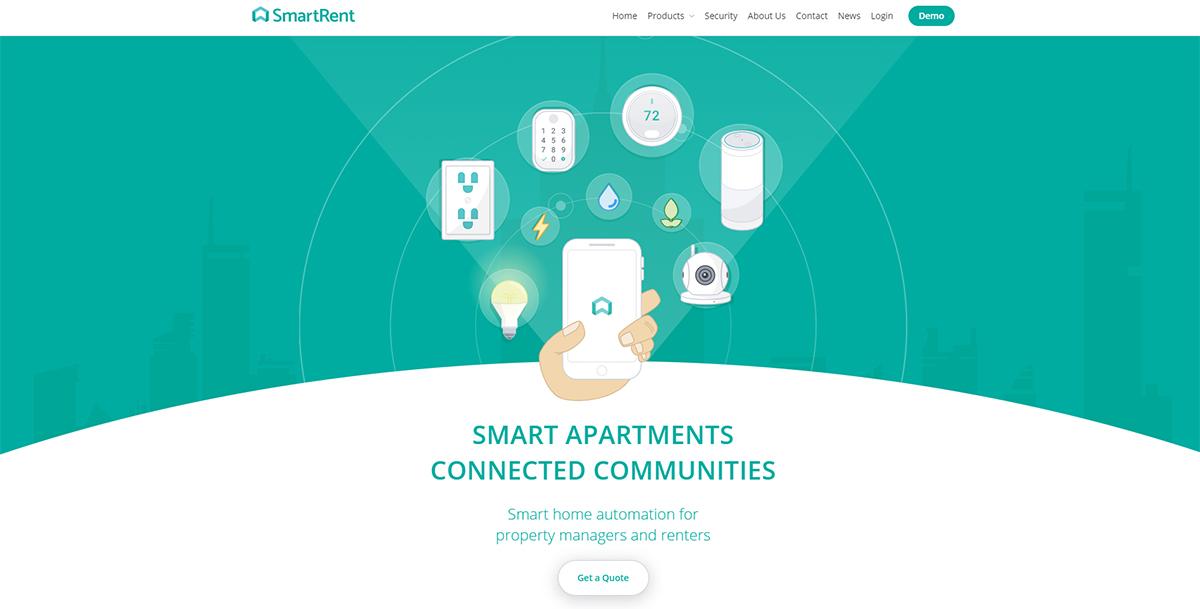 Smartrent Plateforme Smarthomes Amazon Rachat