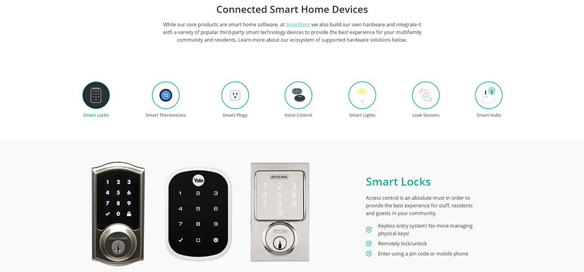 Smartrent Smarthomes Domotique Investissement Amazon