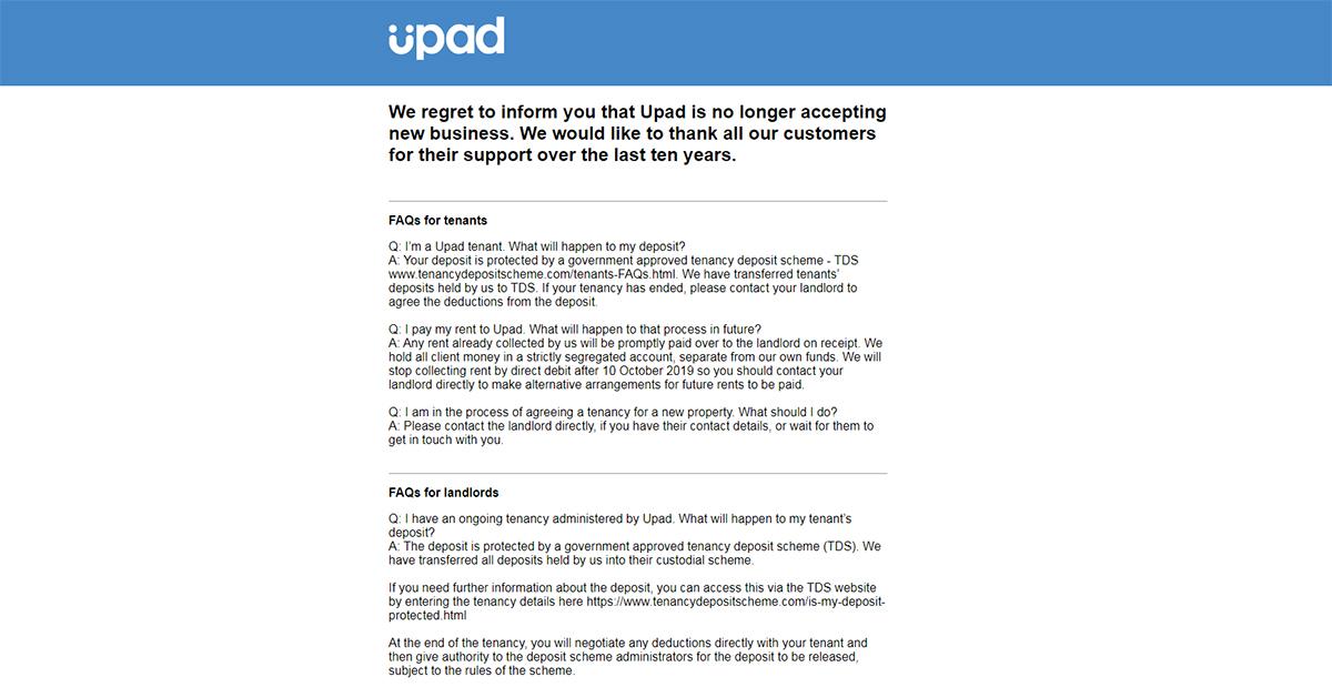 Upad Agence Location Royaume Unis Ferme