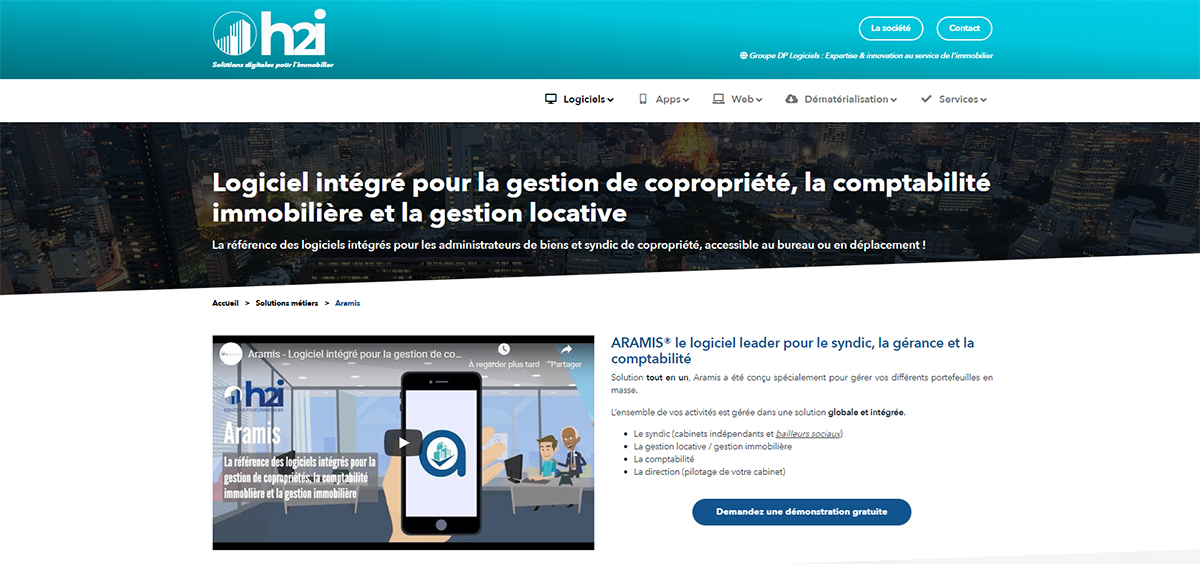 H2i Logiciels Syndics Gestion Immobilier
