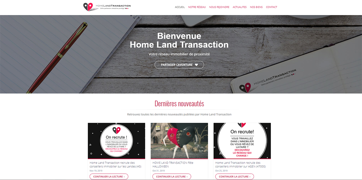 Homeland Transaction Reseaux Immobilier Blog