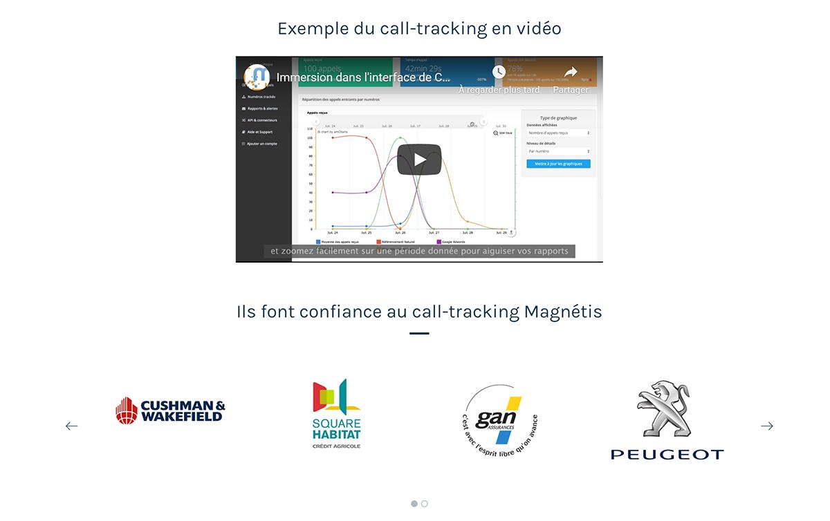 Magnetis Solution De Call Tracking 2 1