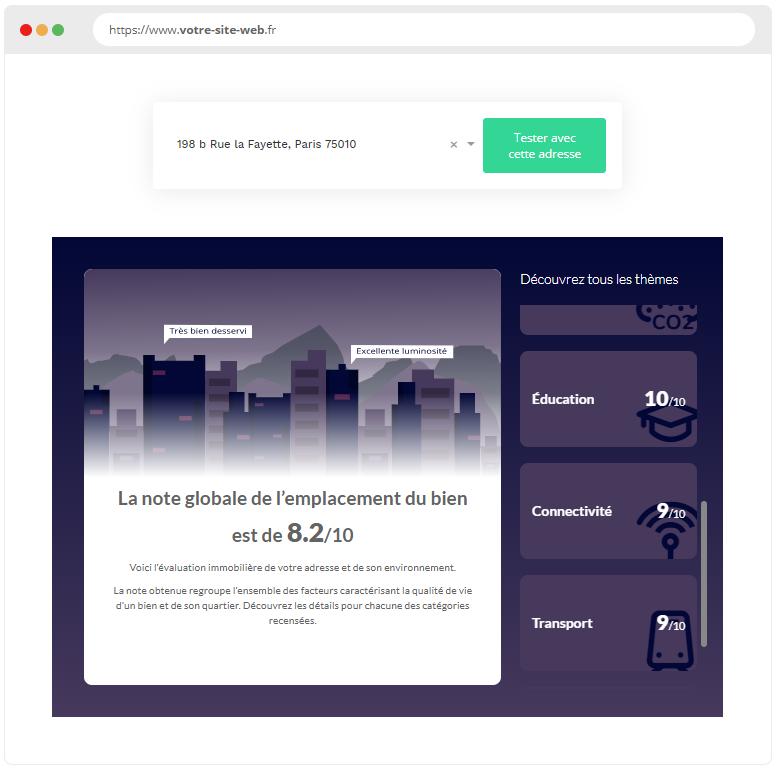 Widget Evaluation Demplacement