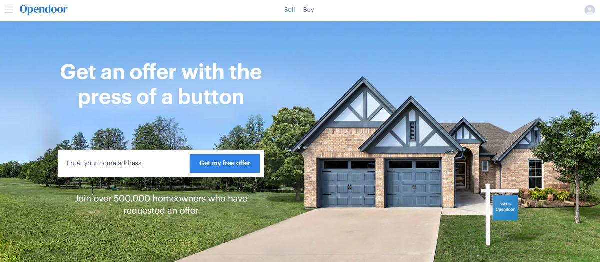 Opendoor Ibuyer Transaction Immobiliere Futur Inmanconnect Newyork 2021